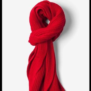 GAP Red Knit Womens Scarf NEW